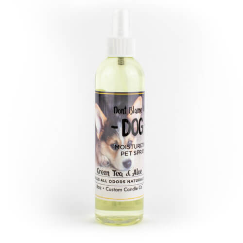8-oz Green Tea and Aloe Dog Shampoo with a white background