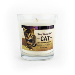 Don't Blame Me Cat Candle that Eliminates Odor