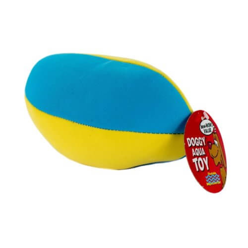 Aqua Doggy Football (back view)