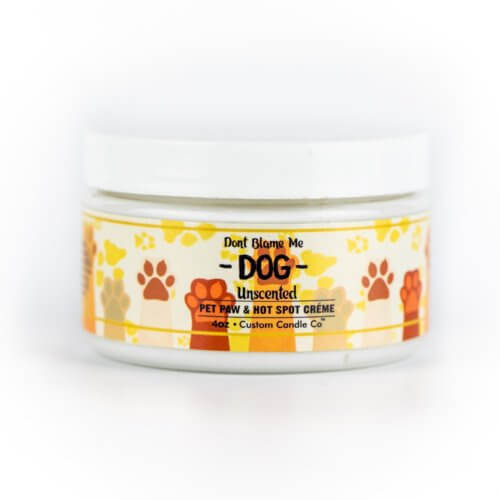 Hot Spot Pet Paw & Hot Spot Creme front showing