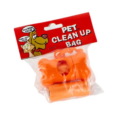 Orange Pet Clean Up Kit